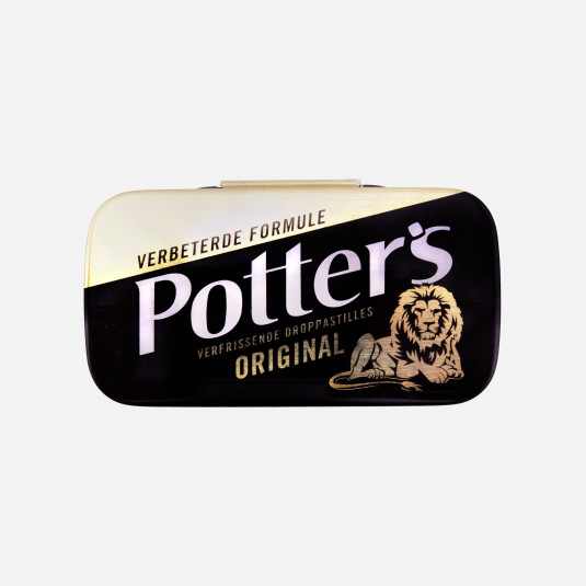 Potters Original Zwart
