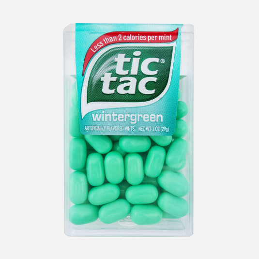 Tic Tac Wintergreen