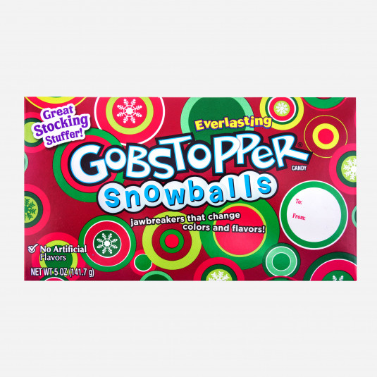 Wonka Gobstopper Snowballs