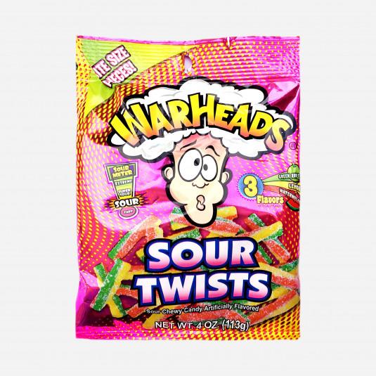 Warheads Sour Twists Peg Bag
