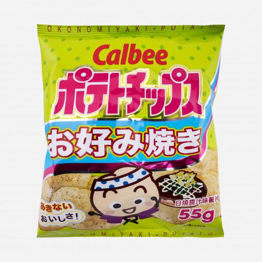 Calbee Crisps Okonomiyaki