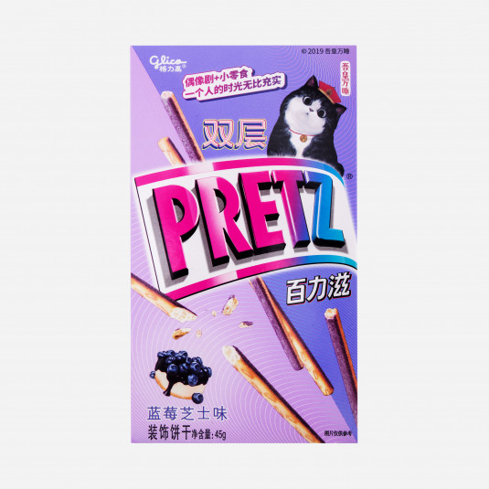 Double Pretz Blue Cheesecake