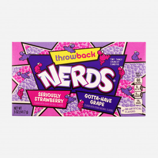 Nerds Strawberry & Grape Theatre Box