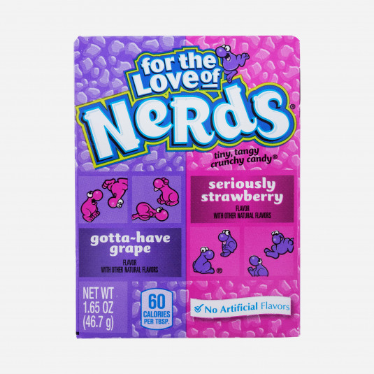 Nerds Strawberry and Grape