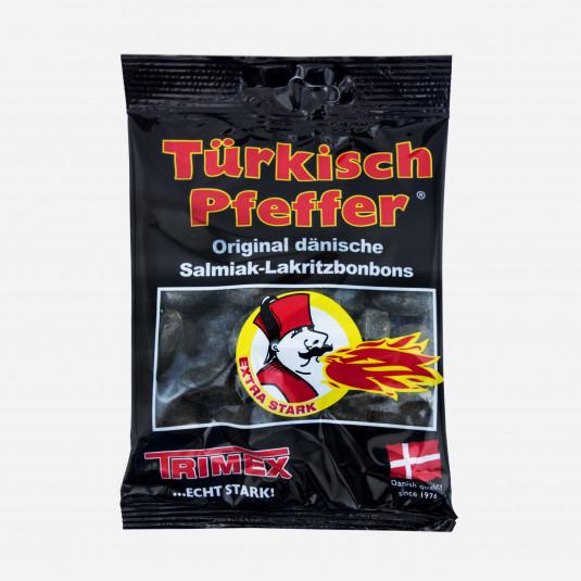 Türkisch Pfeffer Salmiak-Lakritzbonbons