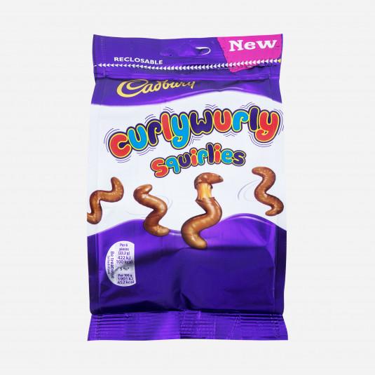 Cadbury Curlywurly Squirlies