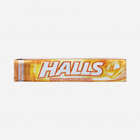 Halls Honey & Lemon