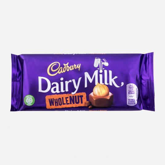 Cadbury Big Taste Wholenut Tafel