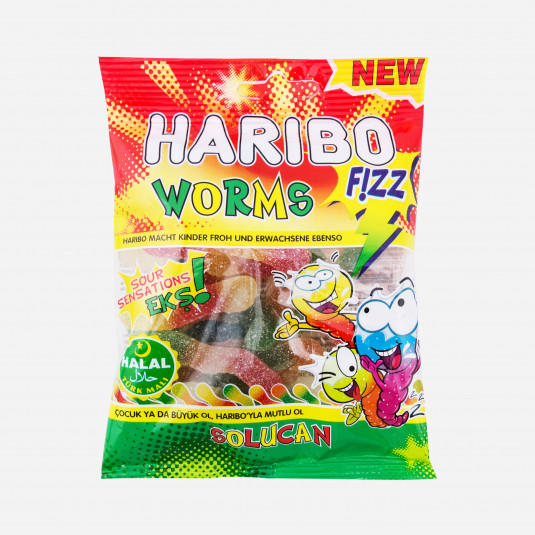 Haribo Worms Fizz