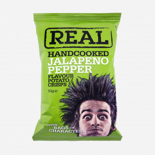 Real Jalapeno Pepper Chips
