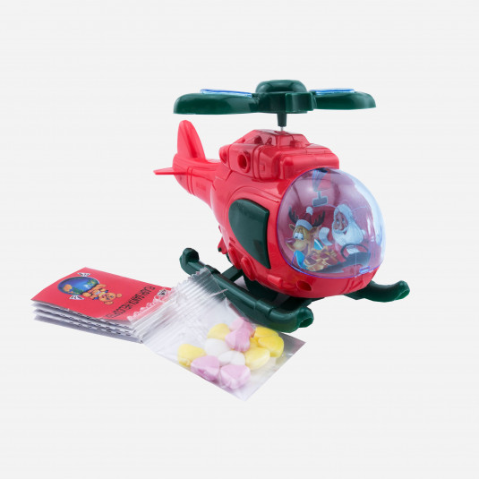 Flash Santa Helicopter