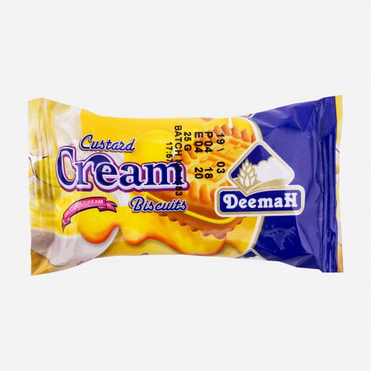 Deemah Custardcreme
