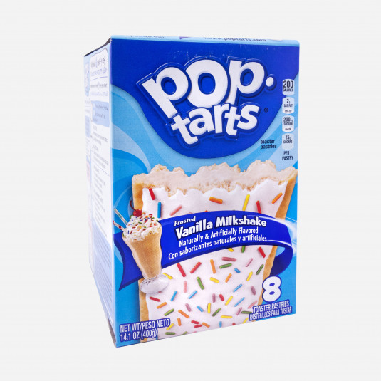 Pop Tarts Vanilla Milkshake