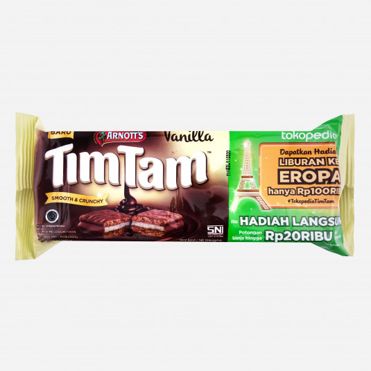 Tim Tam Smooth & Crunch Vanilla