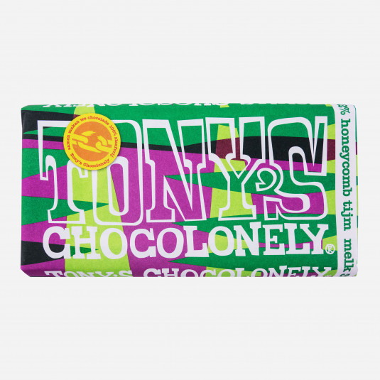 Tony's Chocolonely Honeycomb Tijm Melk