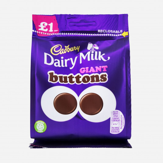 Dairy Milk Giant Buttons