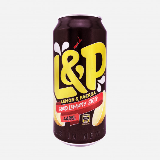 L&P Lemon and Paeroa 440ml