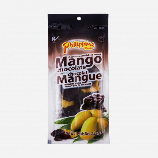 Mango mit Schokolade