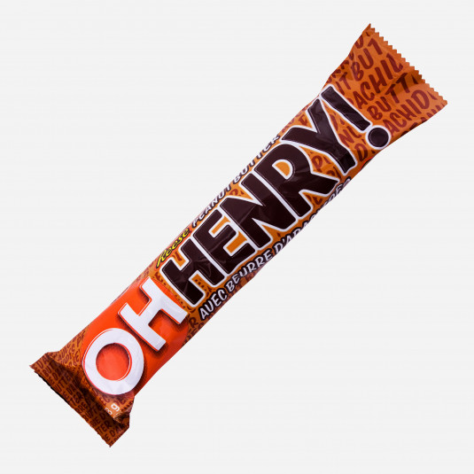 Oh Henry Reeses Peanut Butter