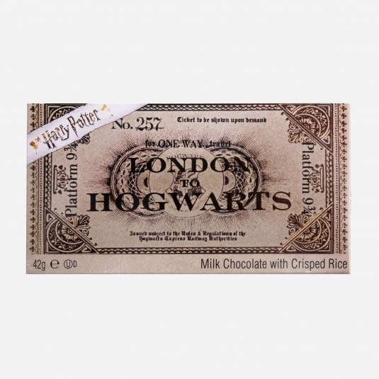 Ticket to Hogwarts Chocolate Bar