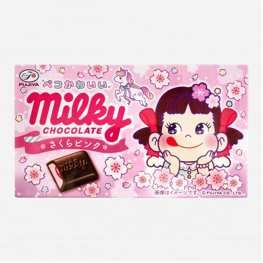 Milky Chocolate Sakura-Pink