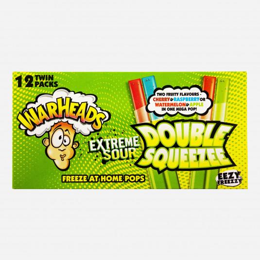 Warheads Double Squeezee Freeze Pops