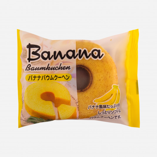 Baumkuchen Banana