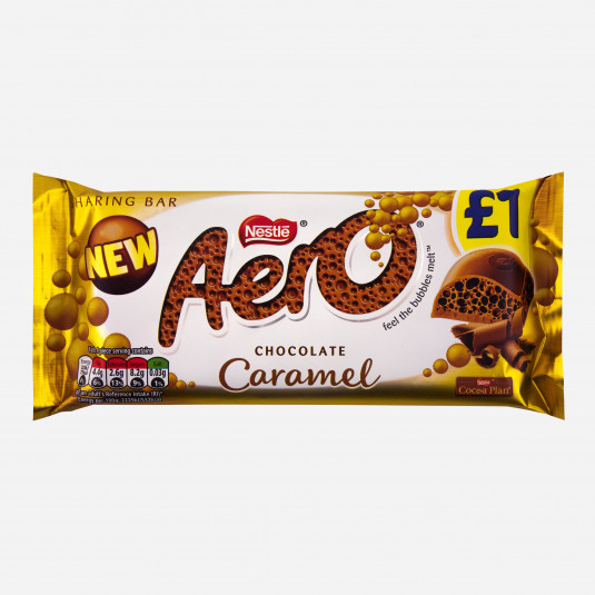 Aero Chocolate Caramel