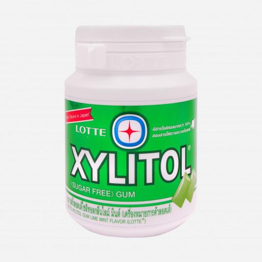 Lotte Xylitol Lime Mint