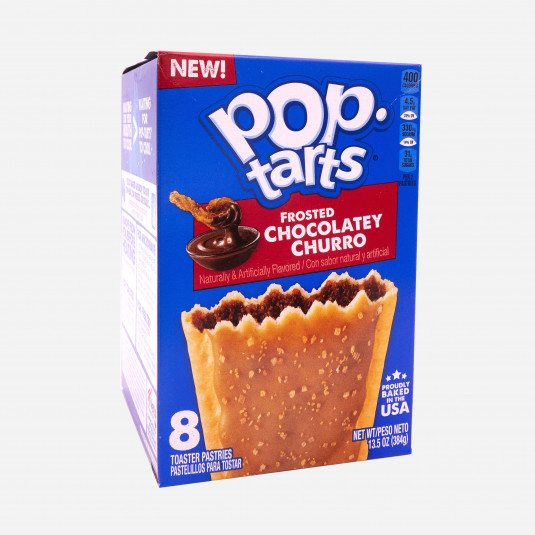 Pop Tarts Frosted Chocolatey Churro