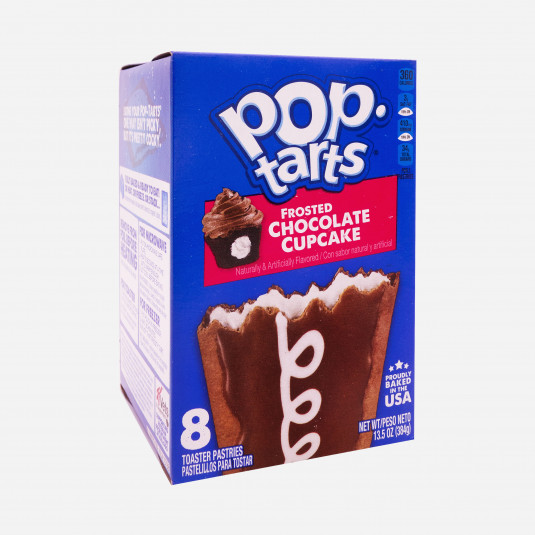Pop Tarts Frosted Chocolate Cupcake