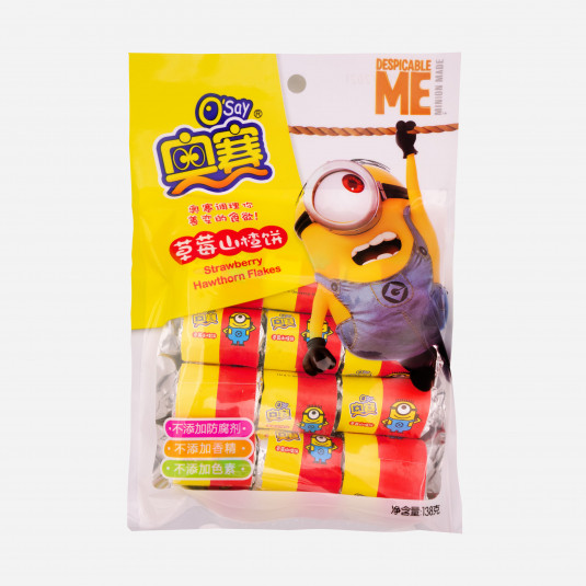 Osay Minions Strawberry Hawthorne Flakes