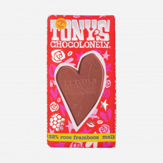 Tonys Chocolonely Roos Framboos Melk