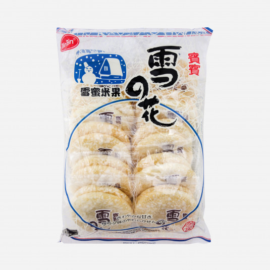 Bin-Bin Snow Rice Crackers
