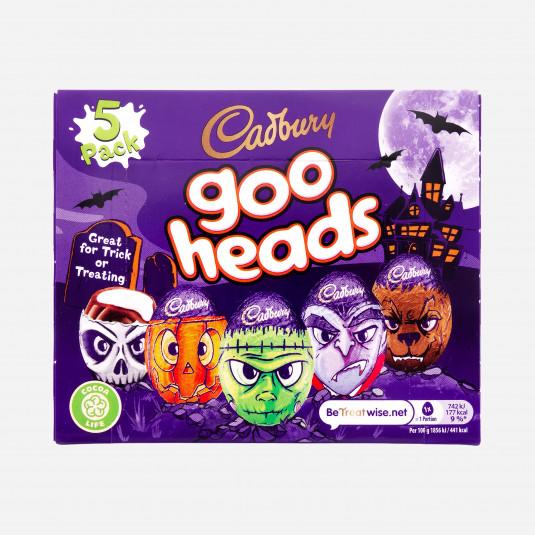 Cadbury Goo Heads 5 Pack
