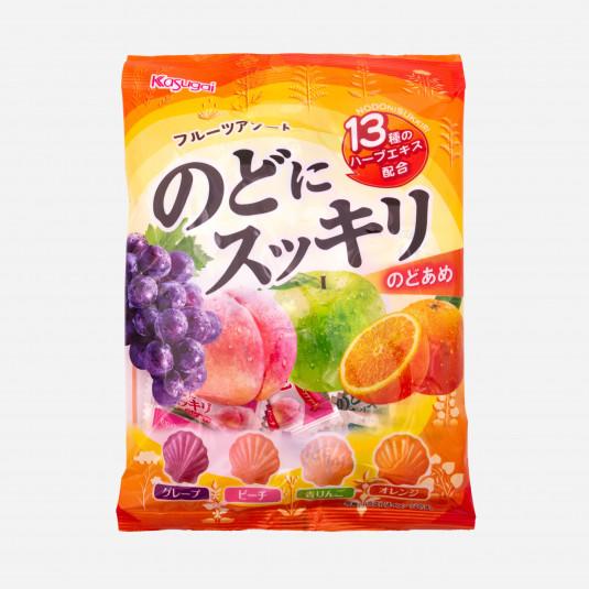 Nodo Ni Sukkuri Fruits Assort