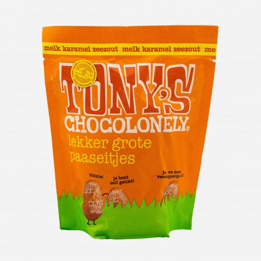 Tony's Chocolonely Melk Karamel Zeezout Eitjes