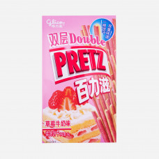 Double Pretz Strawberry Milk