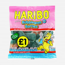 Haribo Fizzy Bubblegum Bottles