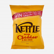 Kettle Chips Cheddar & Red Onion