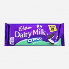 Cadbury Dairy Milk Oreo Mint Tafel