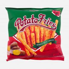 Potato Fries Ketchup