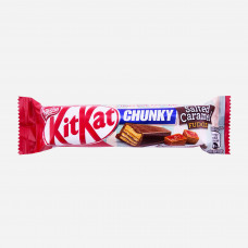 Kit Kat Chunky Salted Caramel Fudge