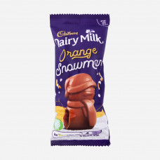 Dairy Milk Orange Snowman