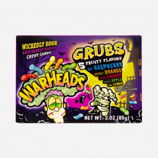 Warheads Grubs 5 Fruity Flavors
