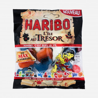 Haribo L'ile au tresor