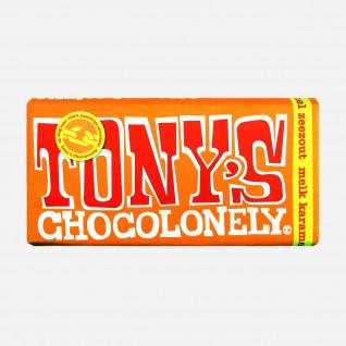 Tony's Chocolonely Melk Karamel Zeezout