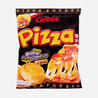 Calbee Crisps Pizza