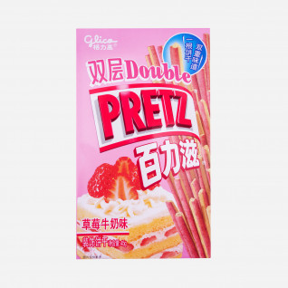 Double Pretz Strawberry Milk
