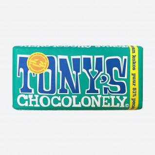 Tony's Chocolonely Puur 51% Pecan Kokos